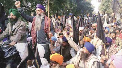 Khalistan Sikh Protest