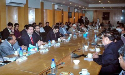 Khurram Dastagir Meeting