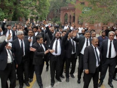 Lawyers Protest