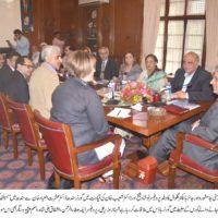 Liaquat Medical University, Jamshoro, Johns Hopkins, Global, Delegation Dr Ishrat Ul Ebad Meeting