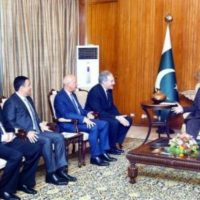 Mamnoon Hussain Turkish Investors Delegation Met