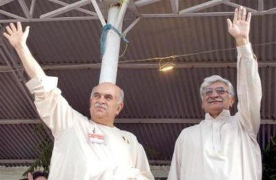Mehmood Achakzai and Asfandyar Wali