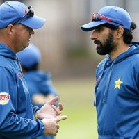 Mickey Arthur and Misbah