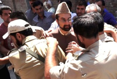 Mirwaiz Umar Farooq arrested