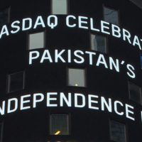 Nasdaq Celebrates Pakistani Independec Day