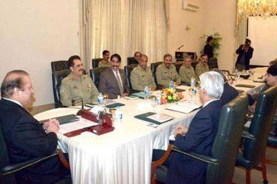 National Security Meeting