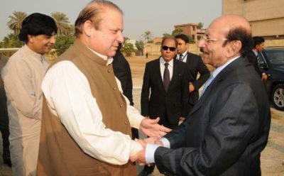 Nawaz Sharif Karachi Visit