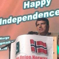 Norway Independence Day Ceremony