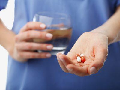 Nurse Give Medicine