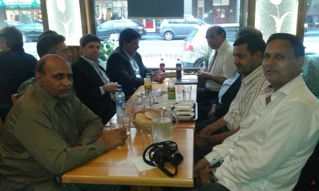 Oslo Pakistani Intellectuals journalists Honors Dinner