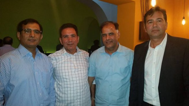 Pakistan Cricket Club Austria officials Honors Ceremony