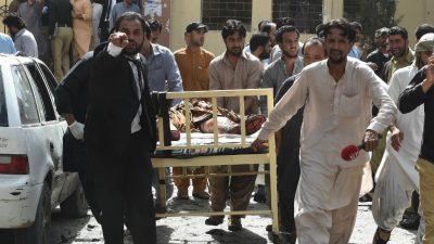 Pakistan Hospital Bombing