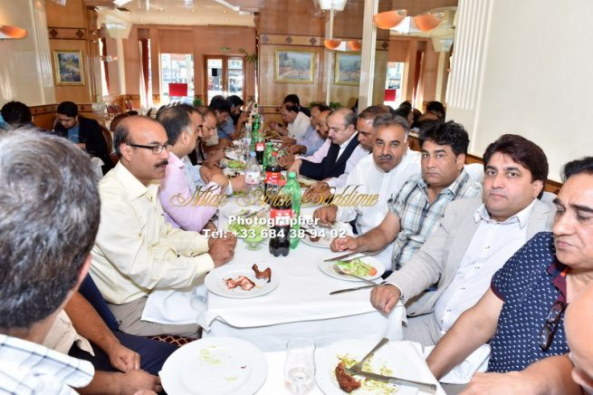 Pakistan Muslim League France Organized Independence Day Ceremony