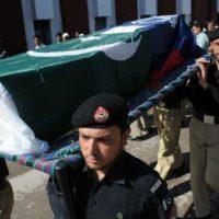 Peshawar Police Funeral