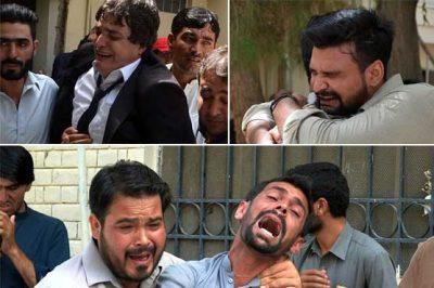 Quetta Blast Victim Relative