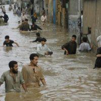 Rain Water in Karachi