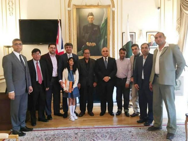Ipjo Meeting with H.E Ibne Abbas