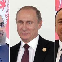 Russia, Iran, Azerbaijan,Meeting