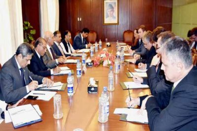 Sartaj Aziz Meeting