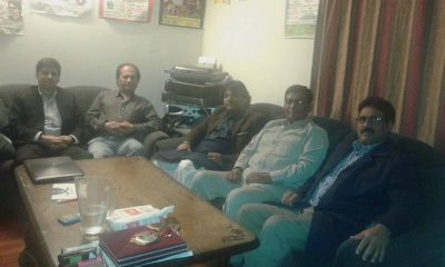 Sher Miandad-Qamar Iqbal Meeting