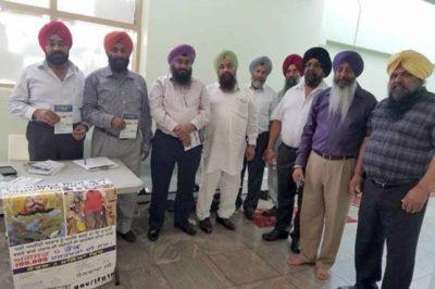Sikhs India Independence Boycott