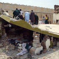Suicide Attack on Shuja Khanzada
