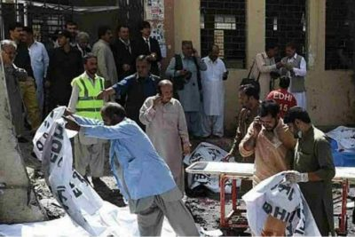 Suicide Bombing at Quetta