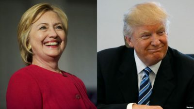 Trump and Clinton