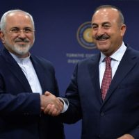Turkish Foreign Minister-Iran Visit