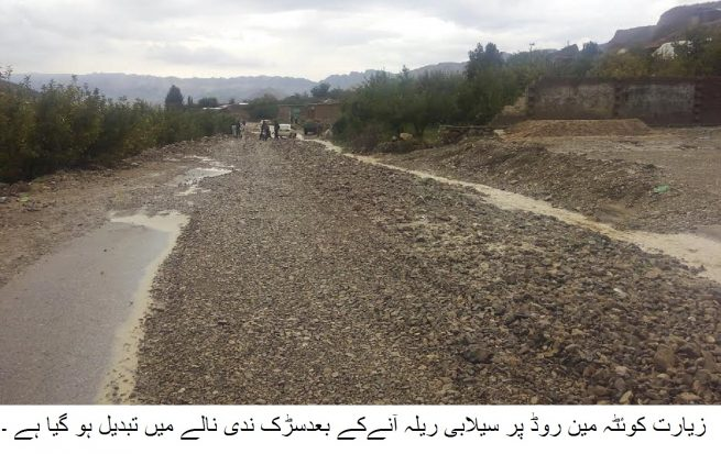 Ziarat Flood