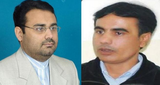 Naseem ul Haq Zahdi and Tabassum