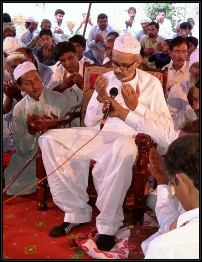Gaddi Nasheen Sahibzada Qasim ul Hasan, Shuj'a Bukhari