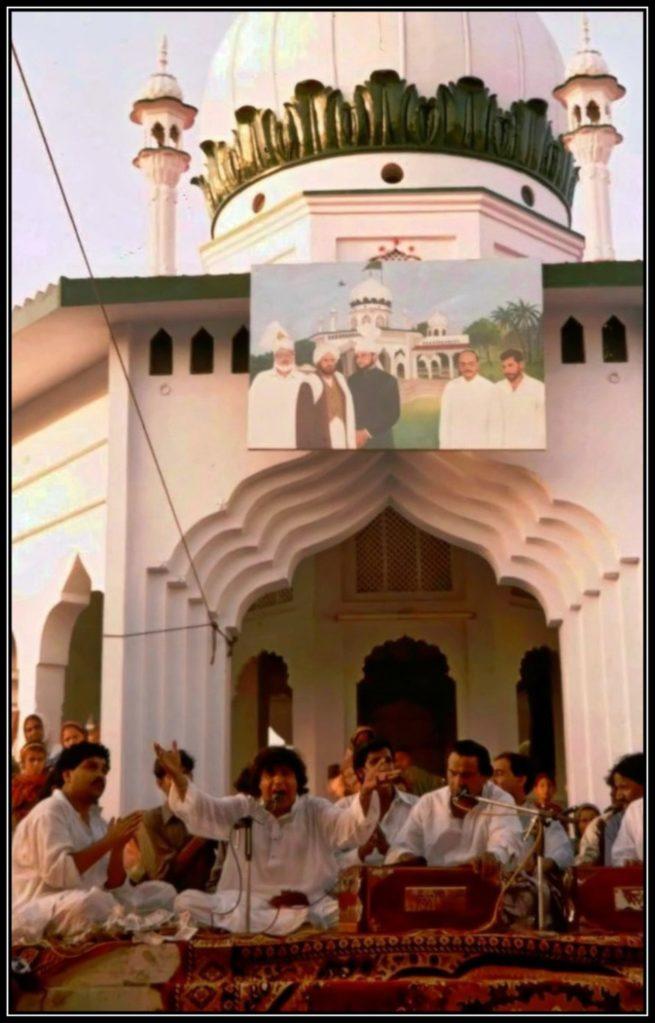 Prince of Qawwali Faez Ali Faezi at darbar e Mehriya