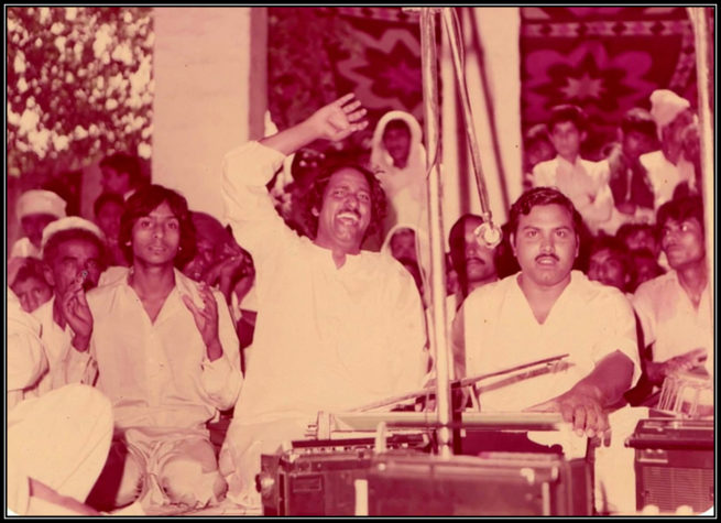 Aroop Saroop walay at annual Urs