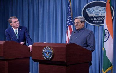 America India Military Logistics Contract