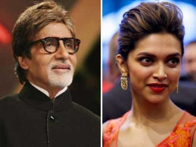Amitabh and Deepika