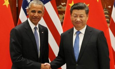 Barack Obama and  Xi Jingping