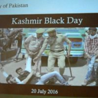 Black Day for Kashmiries-Germany
