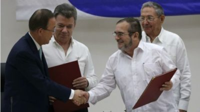 Colombia Ceasefire