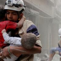 Eastern Aleppo Bombing