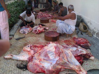 Eid Sacrifice Meat