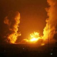 Gaza Israeli Bombardment