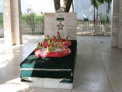 Grave of Major Aziz Bhatti