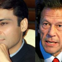 Imran Khan and Hamza Shahbaz