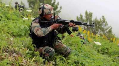 India Army shelling