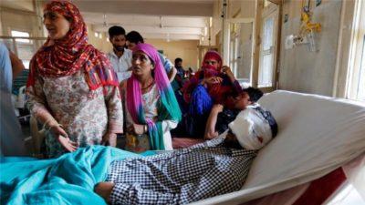 Injured kashmiri