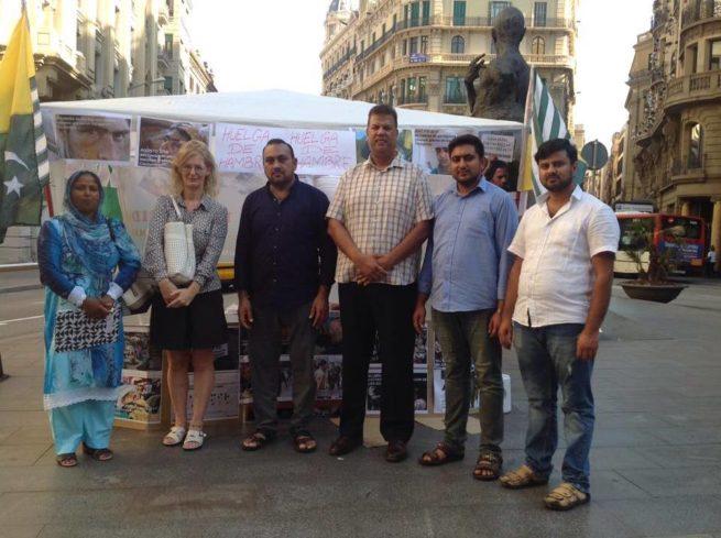 Josephine Christina Visit Hunger Strike