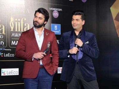Karan Johar and Fawad Khan