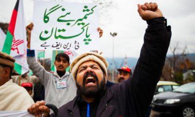Kashmir Day Protest