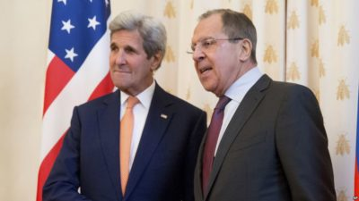Kerry-Lavrov Meeting